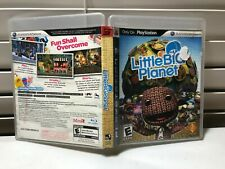 Little Big Planet - PS3 Case + Disc Tested Video Game Playstation 3