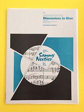 Dimensions In Blue, Sammy Nestico, Big Band Arrangement