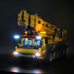 LED Light Kit For 42009 Technic series Mobile Crane Mk II 42009 Car Lighting