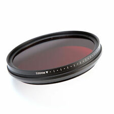 58mm Infrared IR Pass X-Ray Lens Filter Variable Adjustable From 530nm to 750nm