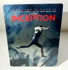 INCEPTION Blu-ray STEELBOOK 1/4 SLIP [JAPAN] BRAND NEW