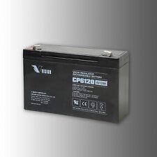 VISION Bleibatterie CP 6120F2 6V 12Ah  AGM