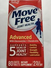 Schiff Move Free Joint Health Advanced with Glucosamine+Chondroitin 80 Tablets