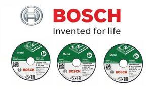BOSCH Metal Cutting Wheels (3 No) (To Fit: Bosch Easy Cut & Grind Grinder)