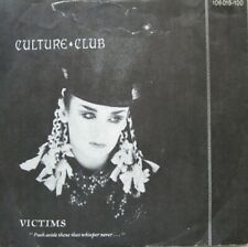 "CULTURE CLUB - VICTIMS / COLOUR BY NUMBERS  - VINYL 7"" - 45 RPM"