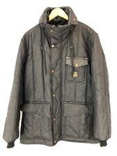 REFRIGIWEAR PARKA COAT SIZE XL ITALY FIR TREE JACKET BLACK REFLECTIVE INSULATED