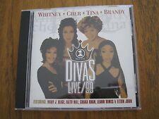 Divas Live/99 (CD 1999) featuring Mary J. Blige Faith Hill Chaka Kahn Cher +More
