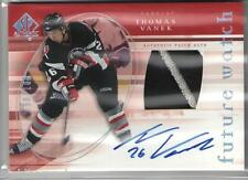 2005/06 SP AUTHENTIC LTD RC PATCH AUTO THOMAS VANEK 090/100