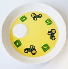 John Deere Dinner Plate Tractor Deep Dish Gibson Dinnerware 9-1/4  1 & Original Collectible John Deere Tableware | eBay