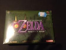 The Legend of Zelda Majora's Mask Nintendo 64 PAL ESPAÑOL NUEVO A ESTRENAR