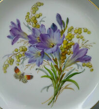 NP 1.335,- € GUSCIO parete ø17, 8cm fiore con farfalla 1. scelta Meissen Piatto Top