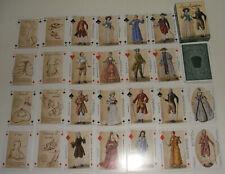 Jeu de 54 cartes à jouer La mode au XVIIIe siècle Les lumières du 18 eme