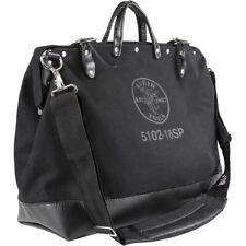 "Klein Tools 510218SPBLK Black 18"" Deluxe Canvas Tool Bag"