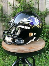 Pre-Owned Baltimore Ravens Riddell Revolution Football Helmet And Facemask