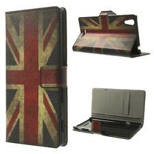 Flip Case/Handy-Hülle zu Sony Xperia Style / Xperia T3 - STAND BOOK MOTIV Tasche
