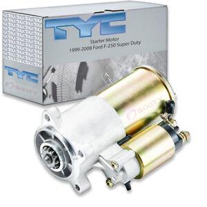 TYC Starter Motor for 1999-2008 Ford F-250 Super Duty 5.4L 6.8L V10 V8 zi