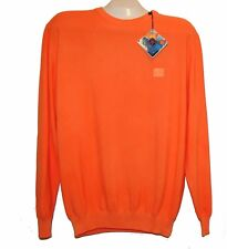 Paul&Shark Yachting Knitted Cotton Men's Italy Orange Shirt Sweater Sz 2XL $338