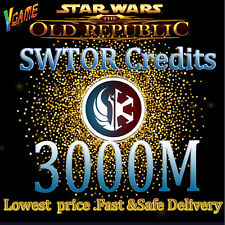 Cheap SWTOR CREDITS 3000M| Star Wars The old of republic Credits all Servers