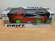 Large Nissan GTR 4WD Drift RC Remote Control Car 1/10 Rechargeable 20 Mph Speed