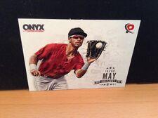2016 Onyx Authenticated Platinum Prospects #JM Jacob May White Sox