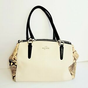 COACH  F57520 Tote Bag Mini Christie Carry All 2WAY Leather