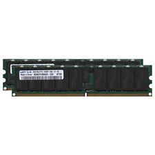 8GB (2x4GB) Sun Fire DDR2-667 PC2-5300 240-pin ECC Server Memory X4233A