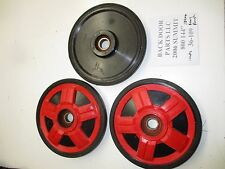 "SKI-DOO 2006 SUMMIT 800 144"" REV 180 MM REAR RED IDLER WHEELS WHEEL 36-109"