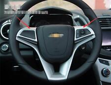ABS Chrome Steering Wheel Trim cover 2pcs for Chevrolet TRAX 2014 2015 2016