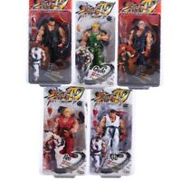 """Street Fighter IV Ken Ryu Guile 7"""" Action Figure Player Select Survival NECA"""