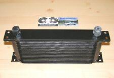 universal ÖLKÜHLER 16 Reihen *NEU* Netz 250x125mm Dash10 AN10 oil cooler schwarz