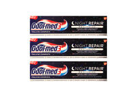3x Odol-med 3 Night Repair + WHITENING Zahnpasta 75 ml toothpaste Zahncreme NEU