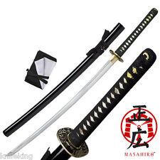 "TENRYU HAND FORGED SAMURAI SWORD 40.9"" OVERALL (MAZ-020BK)"