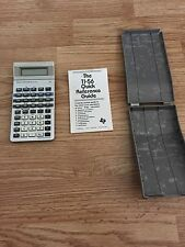 Texas Instruments Ti-56 Programmable Vintage Slanted LCD Calculator Rare