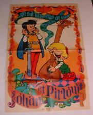 Poster Spirou 1610 Johan et Pirlouit PEYO