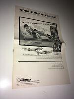 GOOD TIMES Original Movie Pressbook 1967 Sony Bono & Cher Rock & Roll