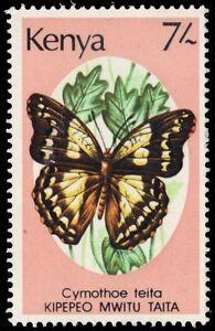 """KENYA 437 (SG447) - Butterflies """"Cymothe teita""""  (pa85482)"""