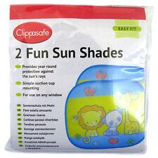 Clippasafe Car Fun Sun Screens Multi-colour 2 Pack