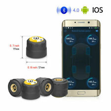 Tpms Bluetooth Tire Pressure Monitoring System 4 External Sensor For Android Ios