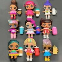 5pcs/lot poupée surprise lol soeur et tenue aléatoire jouets cadeau enfant