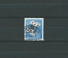 SWISS / SUISSE - PAPILLONS 1955 YT 571 / MI 622 - USED - COTE 7,00 €
