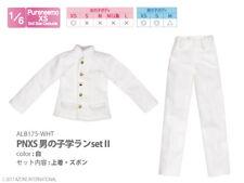 Azone Pureneemo PNXS Boys School Uniform Set II White Blythe Momoko 1/6 Obitsu
