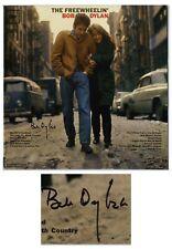 "Bob Dylan Signed Vinyl Record Album ""The Freewheelin'"""