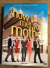 Cofanetto Dvd How I Met Your Mother - Alla Fine Arriva Mamma Stagione 6
