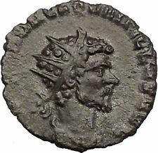 Quintillus 270AD Ancient Roman Coin Virtus Excellence Courage Valor i56241