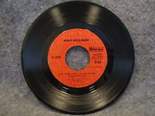 """45 RPM 7"""" Record Andy Williams Home For Thee & Love Theme From Godfather 4-45579"""
