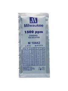 3x 20ml 1500 ppm TDS Calibration Solution, milwaukee/m10442/hanna/hi70442
