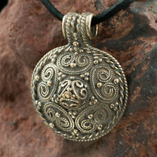 VIKING PENDANT Stora Ryk Färgelanda Sweden Bronze Pendant Charm Viking Vikings
