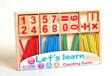 Lets Learn Wooden Counting Fun game education leaning activity maths numbers