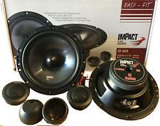 IMPACT EF66S SISTEMA 2 VIE 165mm SPEAKER AUDIO 150W WOOFER ALTOPARLANTI +TWEETER