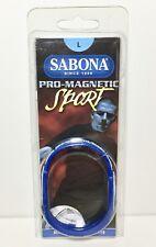 Sabona Pro Magnetic Sport Large Wristband 1200 Gauss Magnets Minus Ions Titanium
